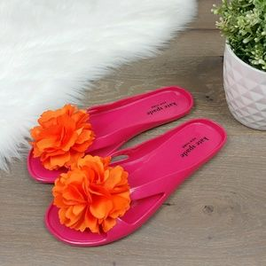 Kate Spade Shoes Sandals Flip Flops Jelly Thong